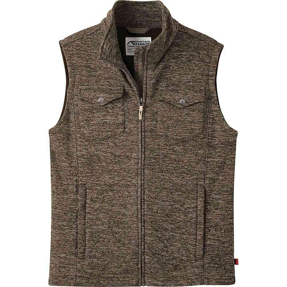 マウンテンカーキス Mountain Khakis メンズ ベスト・ジレ トップス【old faithful vest】Coffee