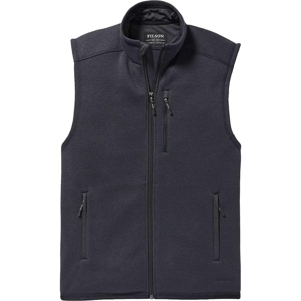 フィルソン Filson メンズ ベスト・ジレ トップス【ridgeway fleece vest】Dark Navy