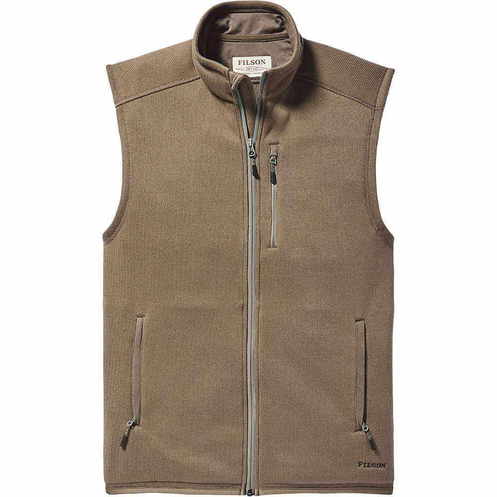 フィルソン Filson メンズ ベスト・ジレ トップス【ridgeway fleece vest】Field Olive