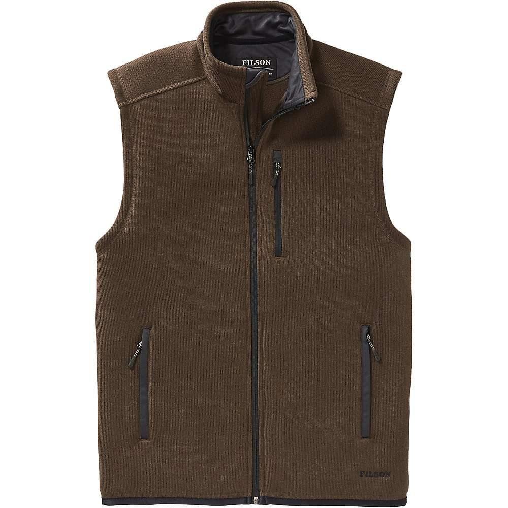 フィルソン Filson メンズ ベスト・ジレ トップス【ridgeway fleece vest】Bark