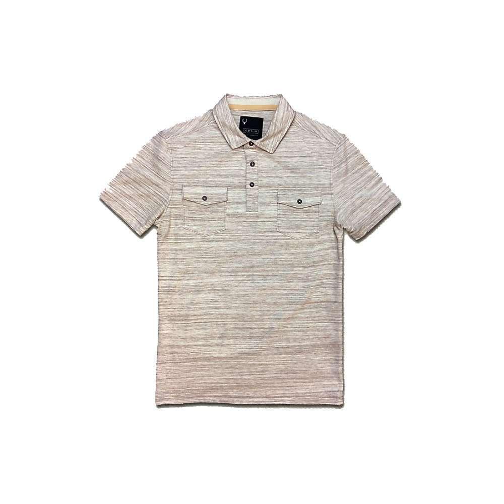 ジェレミア Jeremiah メンズ ポロシャツ トップス【colson spacedye heather snap polo shirt】Tawny Birch