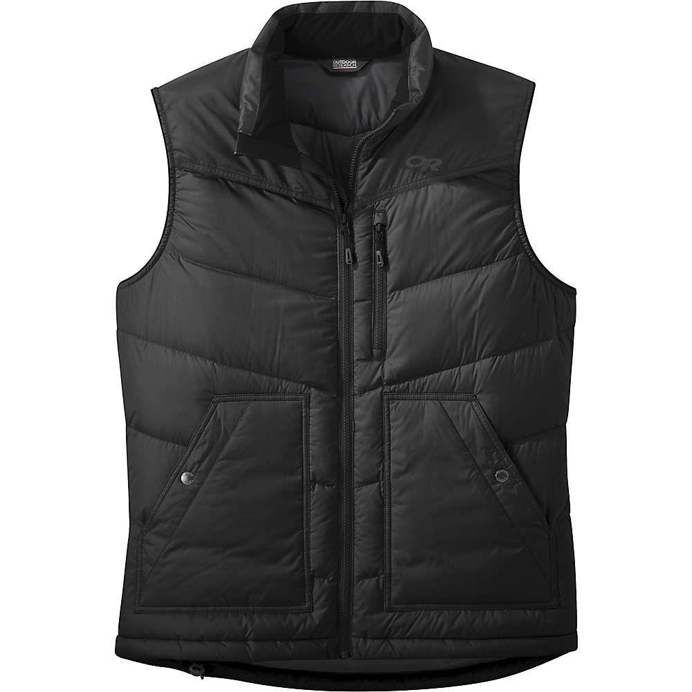 アウトドアリサーチ Outdoor Research メンズ ベスト・ジレ ダウンベスト トップス【transcendent down vest】Black