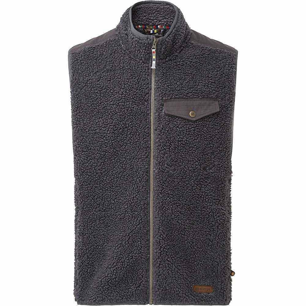 シェルパ Sherpa メンズ ベスト・ジレ トップス【tingri vest】Kharani Grey