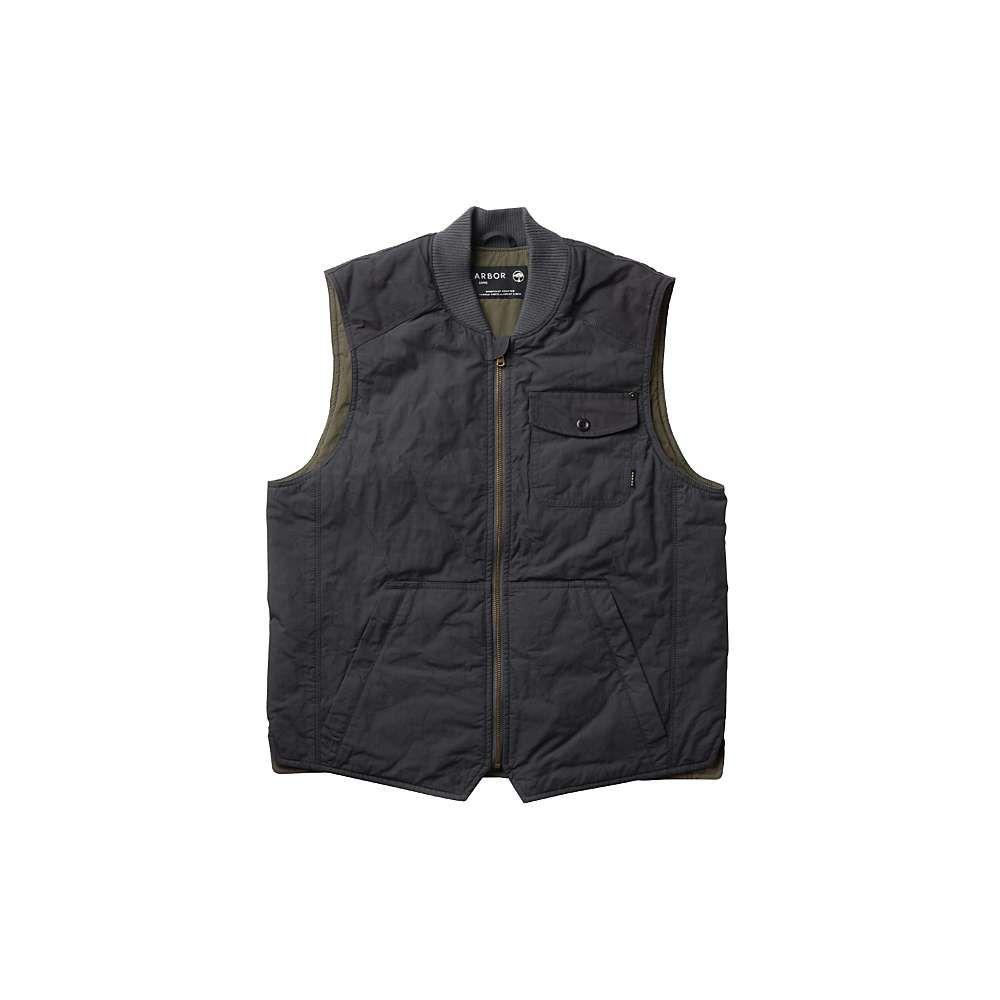 アーバー Arbor メンズ ベスト・ジレ トップス【crosscut vest】Vintage Black