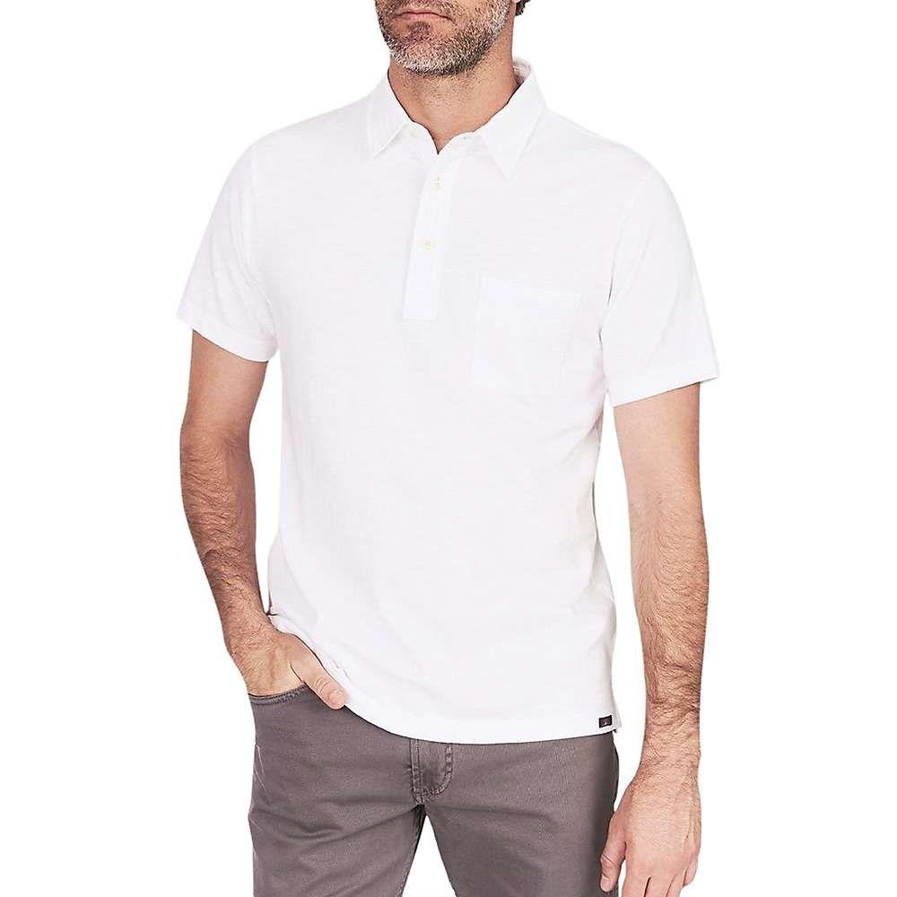 ファレティ Faherty メンズ ポロシャツ トップス【sunwashed polo shirt】White