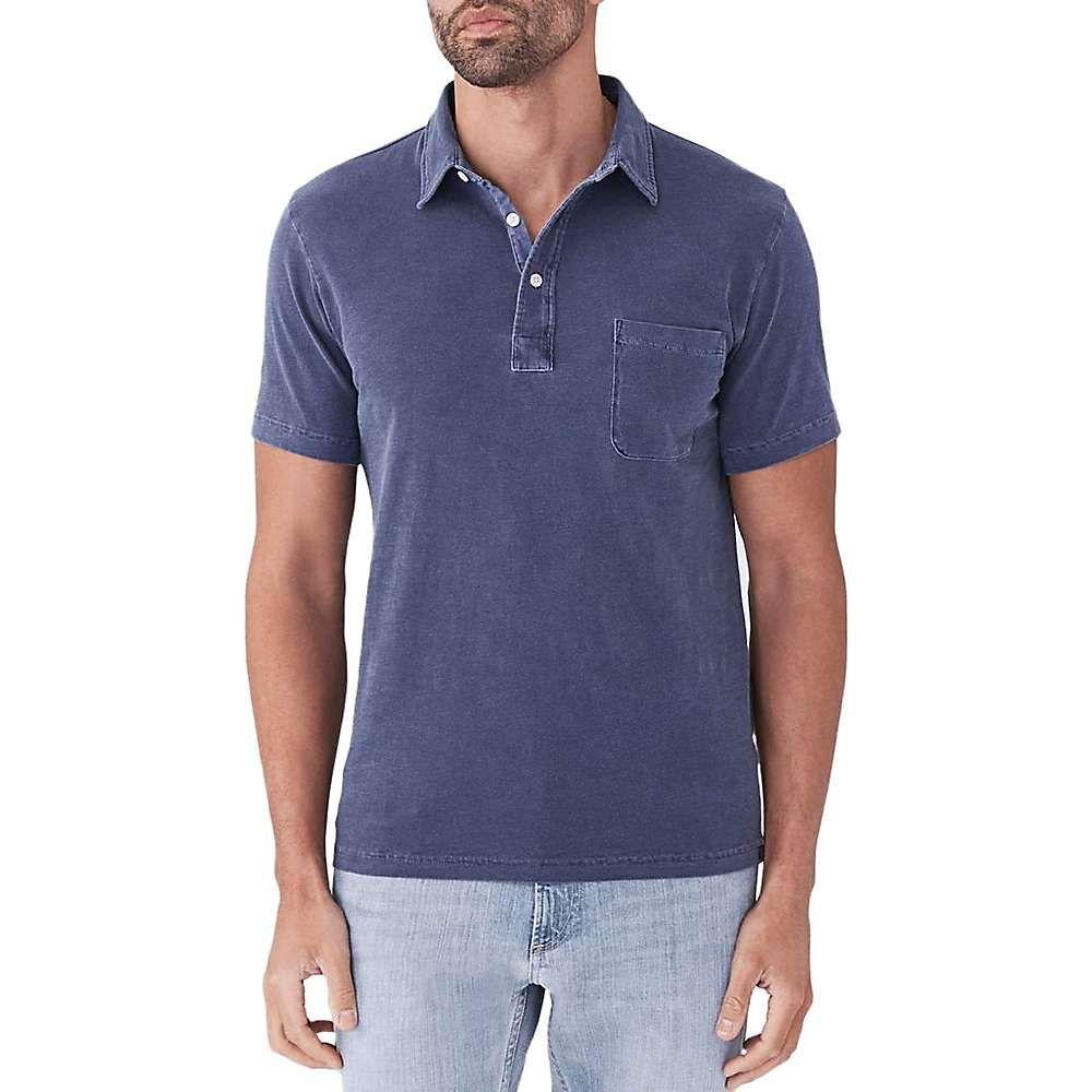 ファレティ Faherty メンズ ポロシャツ トップス【sunwashed polo shirt】Navy