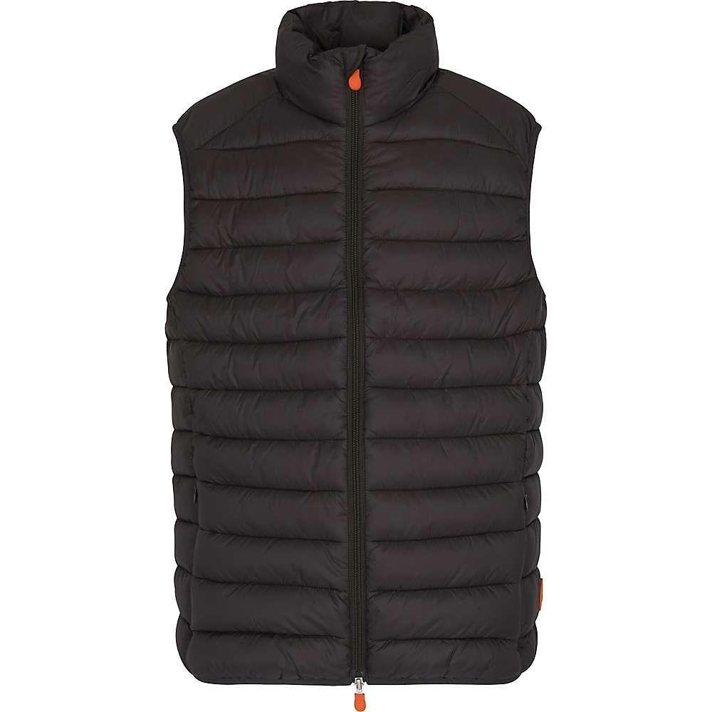 セイブ ザ ダック Save The Duck メンズ ベスト・ジレ トップス【signature lightweight vest】Brown Black