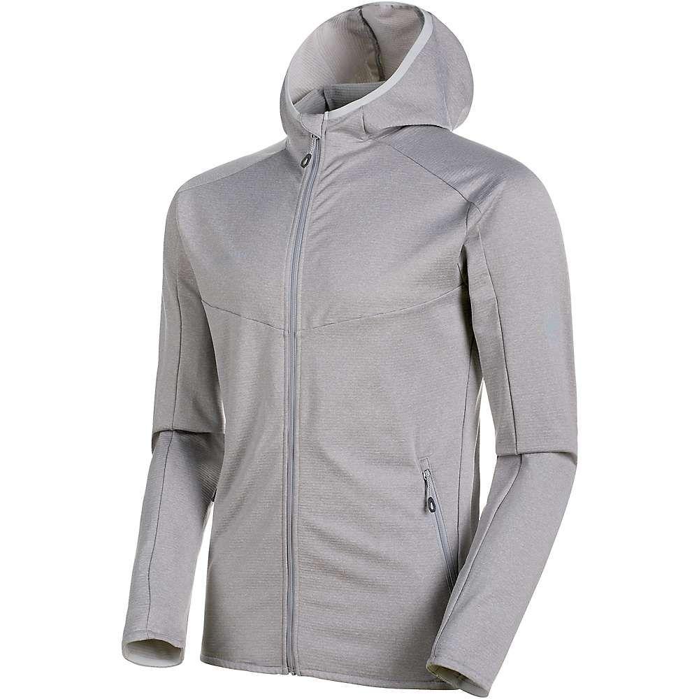 マムート Mammut メンズ フリース フード ミッドレイヤー トップス【nair midlayer hooded jacket】Highway Melange