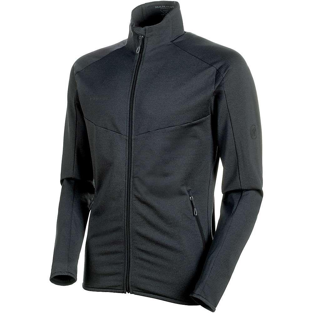 マムート Mammut メンズ フリース ミッドレイヤー トップス【nair midlayer jacket】Black Melange