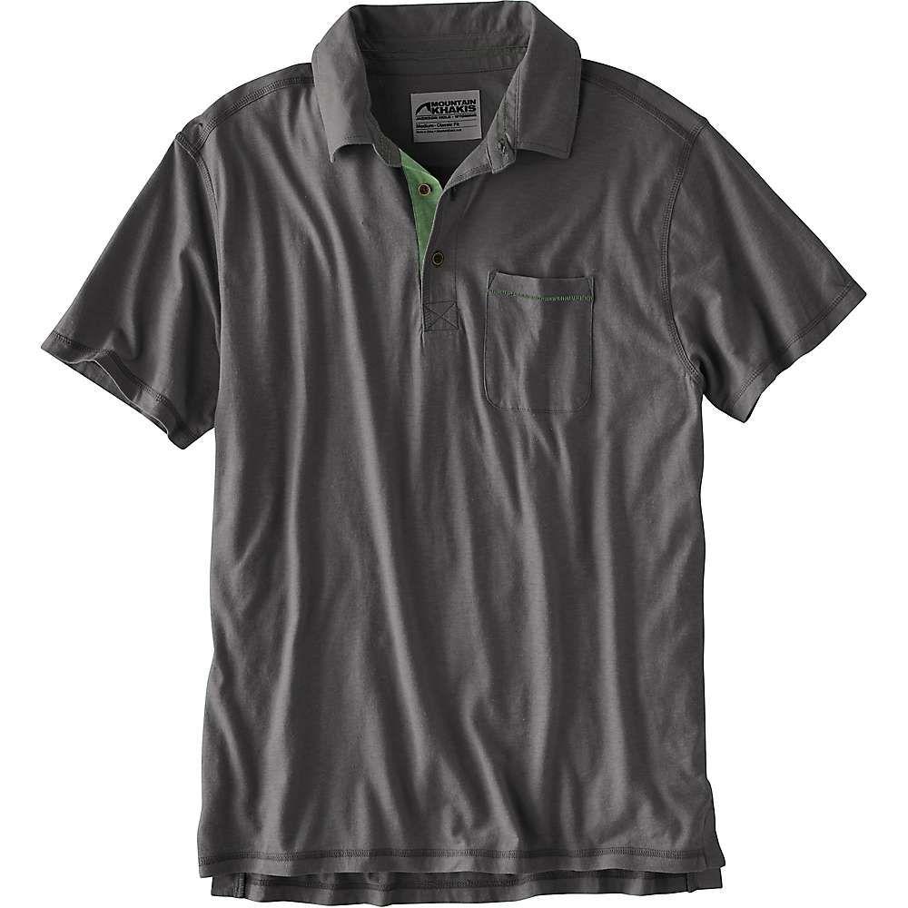 マウンテンカーキス Mountain Khakis メンズ ポロシャツ トップス【hutch polo shirt】Slate