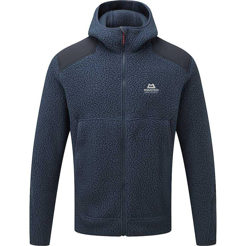 マウンテンイクイップメント Mountain Equipment メンズ フリース フード トップス【moreno hooded jacket】Denim/Blue Nights