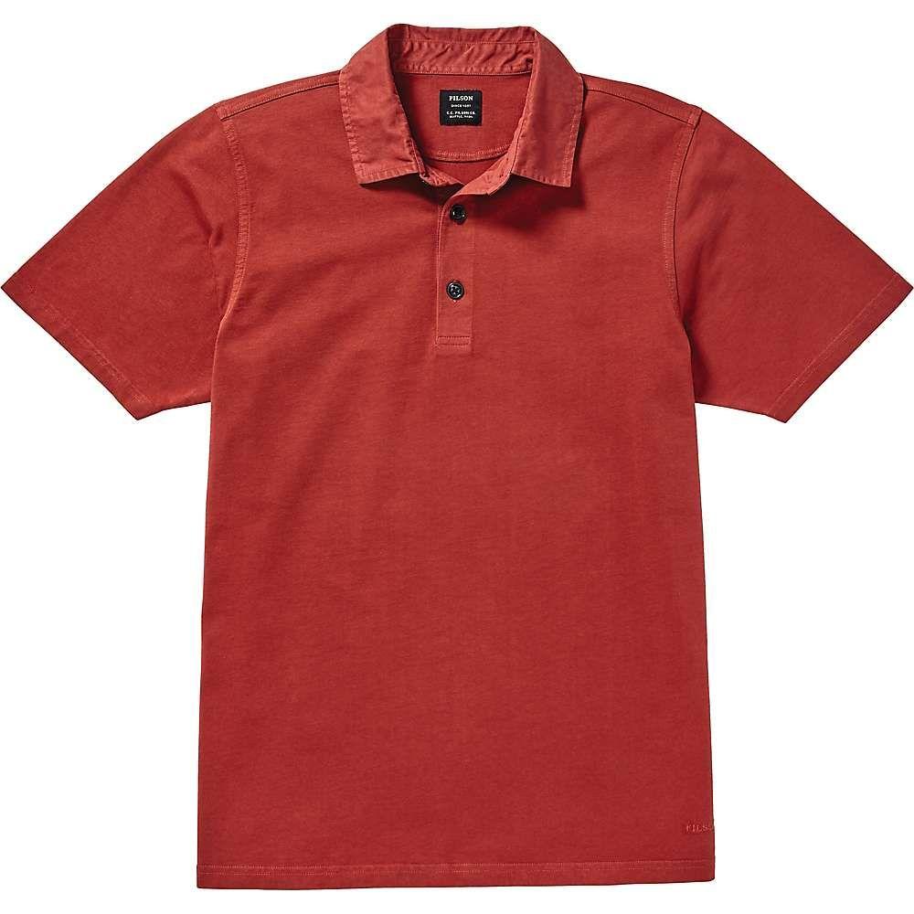 フィルソン Filson メンズ ポロシャツ トップス【cedar river polo shirt】Dark Red