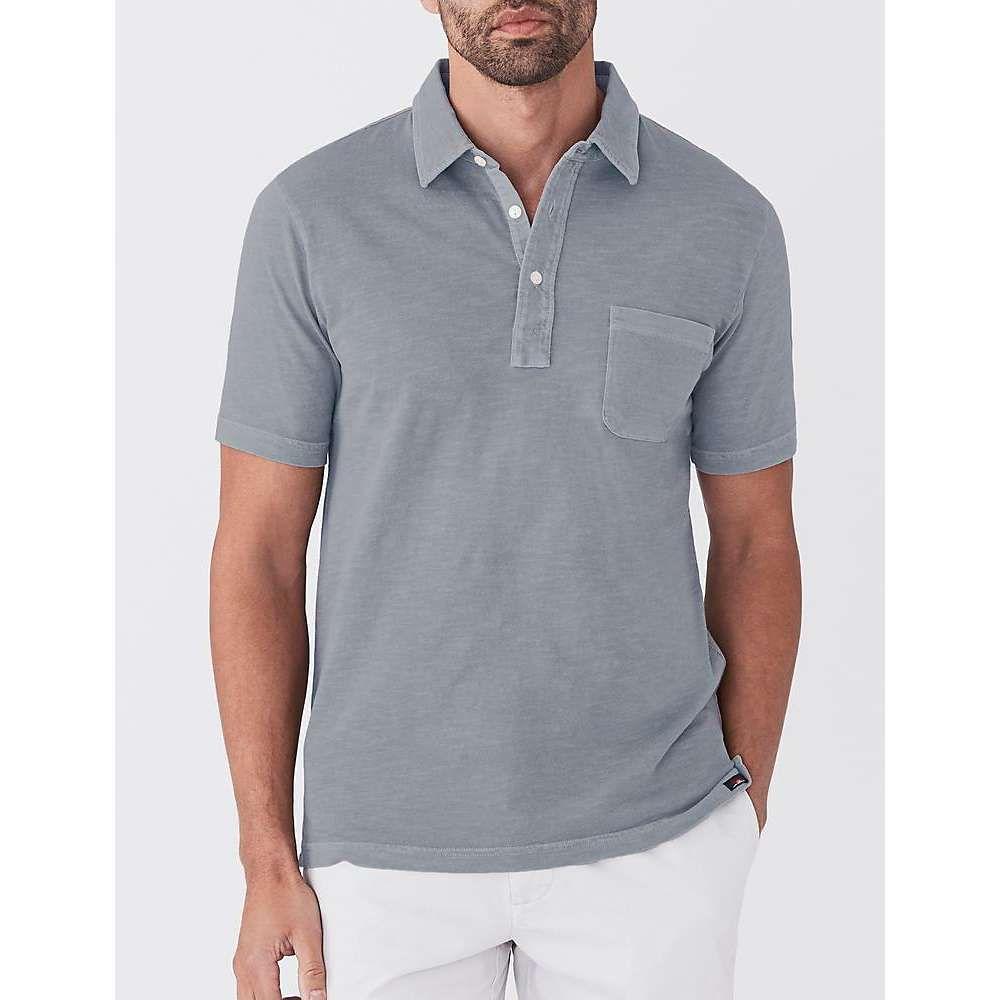 ファレティ Faherty メンズ ポロシャツ トップス【sunwashed polo shirt】Storm Blue