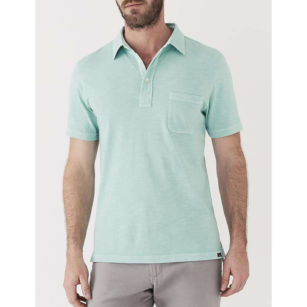 ファレティ Faherty メンズ ポロシャツ トップス【sunwashed polo shirt】Water Blue