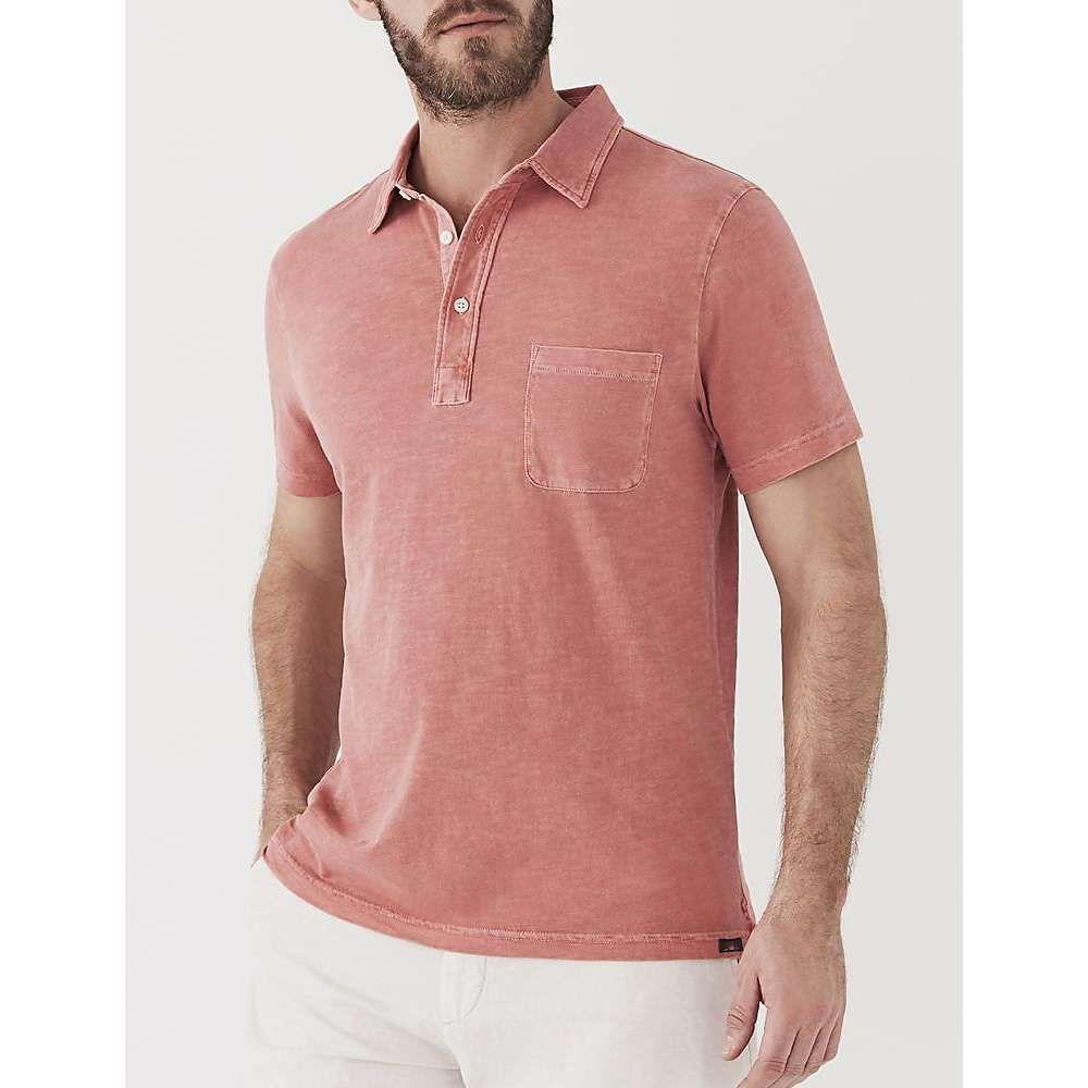 ファレティ Faherty メンズ ポロシャツ トップス【sunwashed polo shirt】New Red