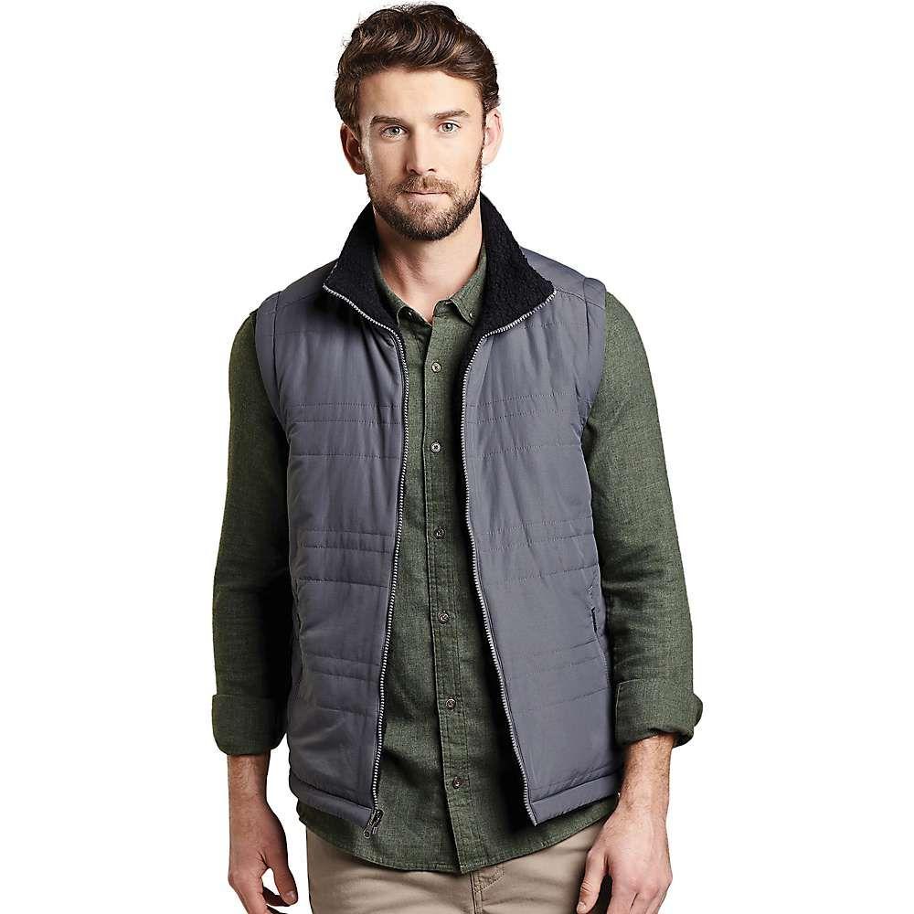 トードアンドコー Toad & Co メンズ ベスト・ジレ トップス【telluride sherpa vest】Soot