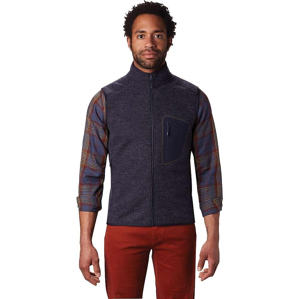 マウンテンハードウェア Mountain Hardwear メンズ ベスト・ジレ トップス【hatcher vest】Dark Zinc