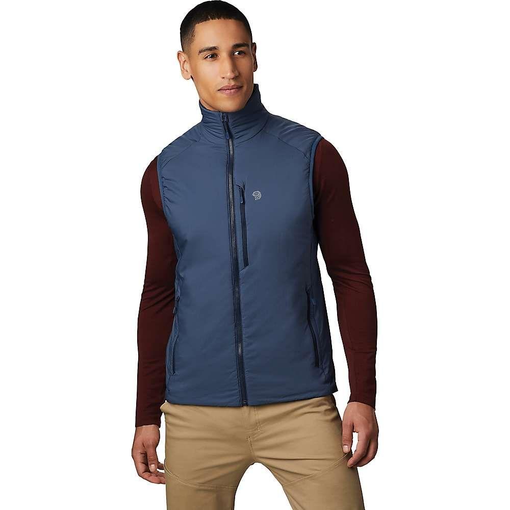 マウンテンハードウェア Mountain Hardwear メンズ ベスト・ジレ トップス【kor strata vest】Zinc