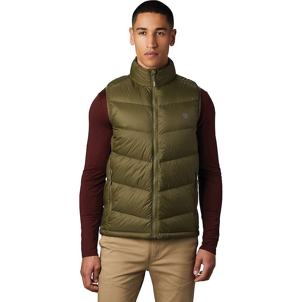 マウンテンハードウェア Mountain Hardwear メンズ ベスト・ジレ ダウンベスト トップス【mt. eyak down vest】Combat Green