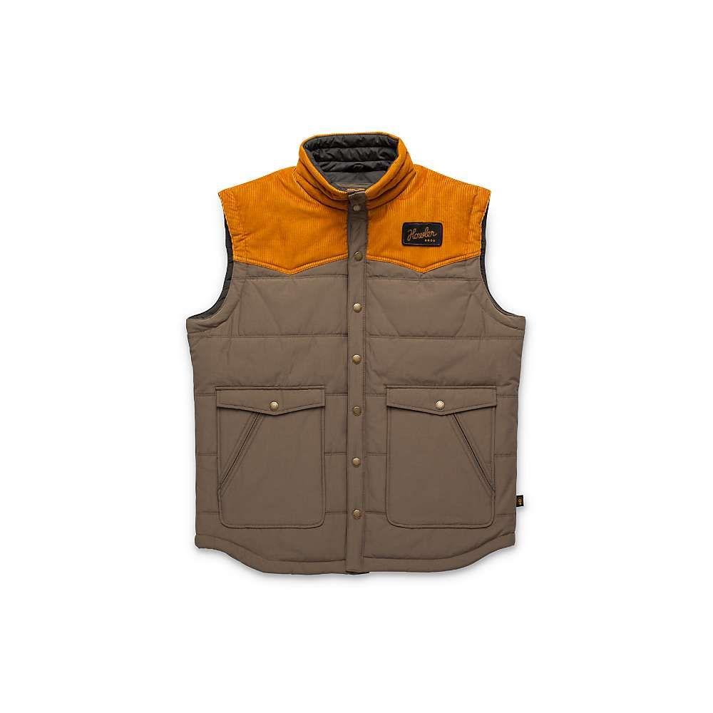 ホウラーブラザーズ Howler Brothers メンズ ベスト・ジレ トップス【rounder vest】Morel/Rust