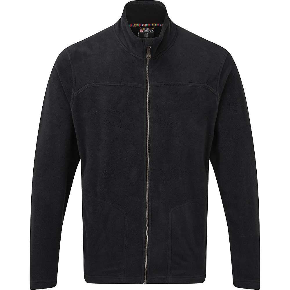 シェルパ Sherpa メンズ フリース トップス【rolpa jacket】Black