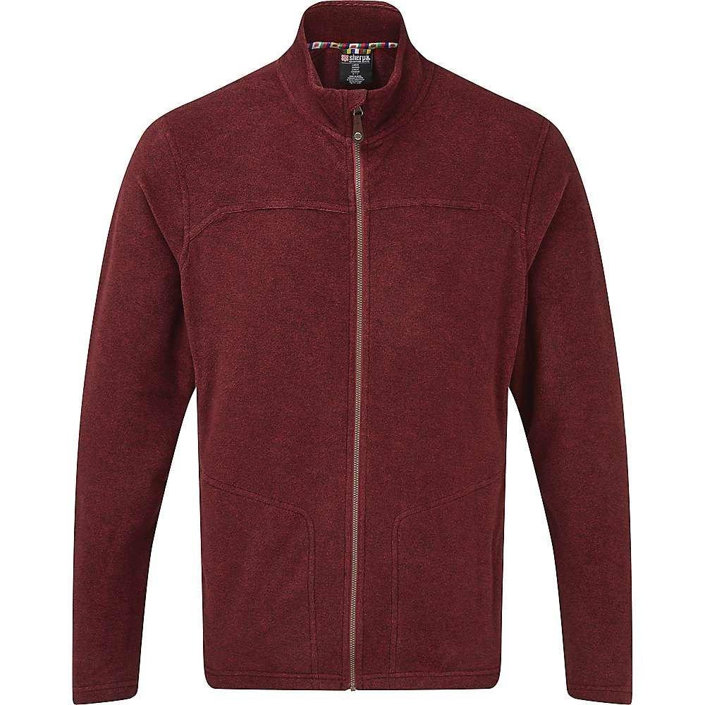 シェルパ Sherpa メンズ フリース トップス【rolpa jacket】Potala Red
