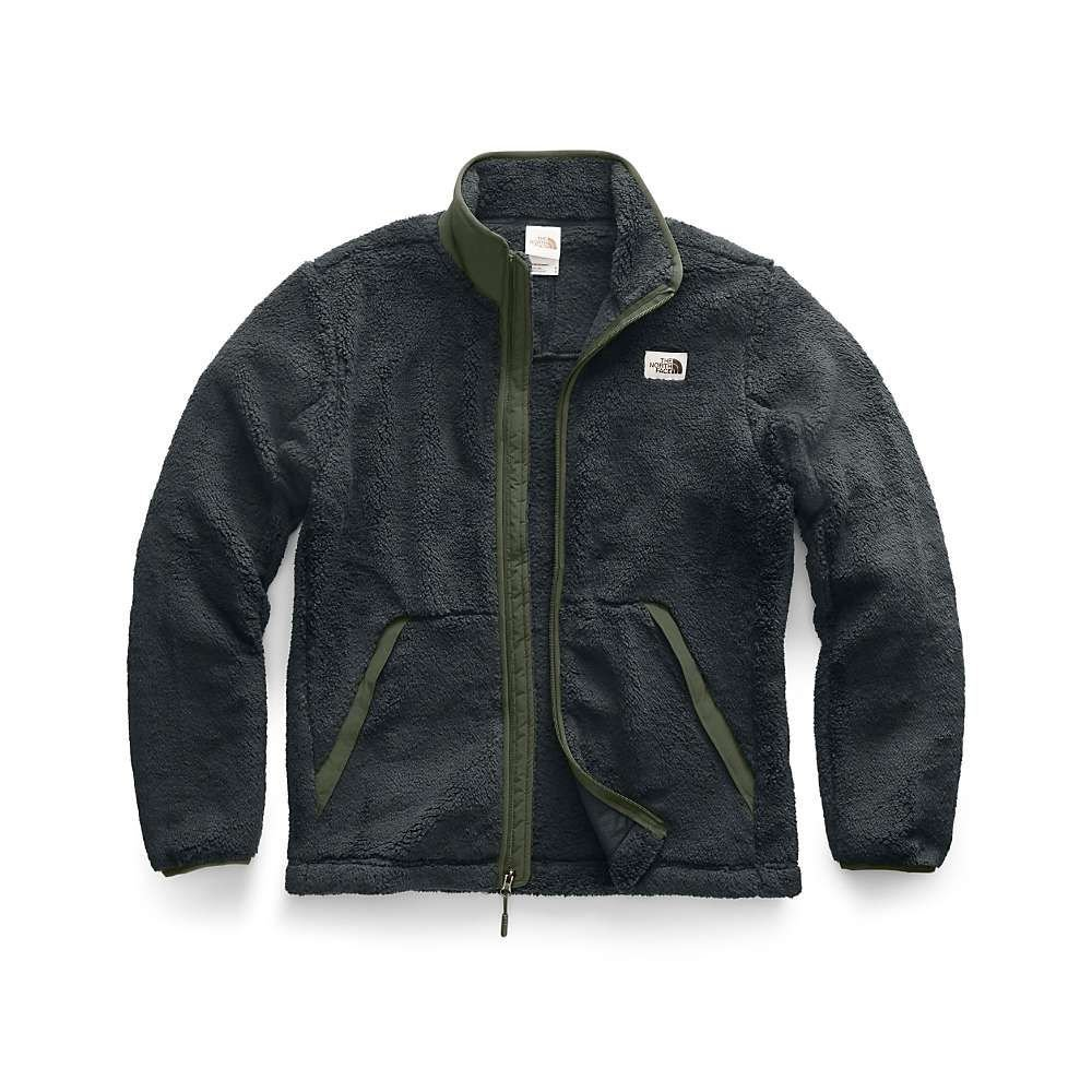 ザ ノースフェイス The North Face メンズ フリース トップス【campshire full zip jacket】Asphalt Grey/New Taupe Green