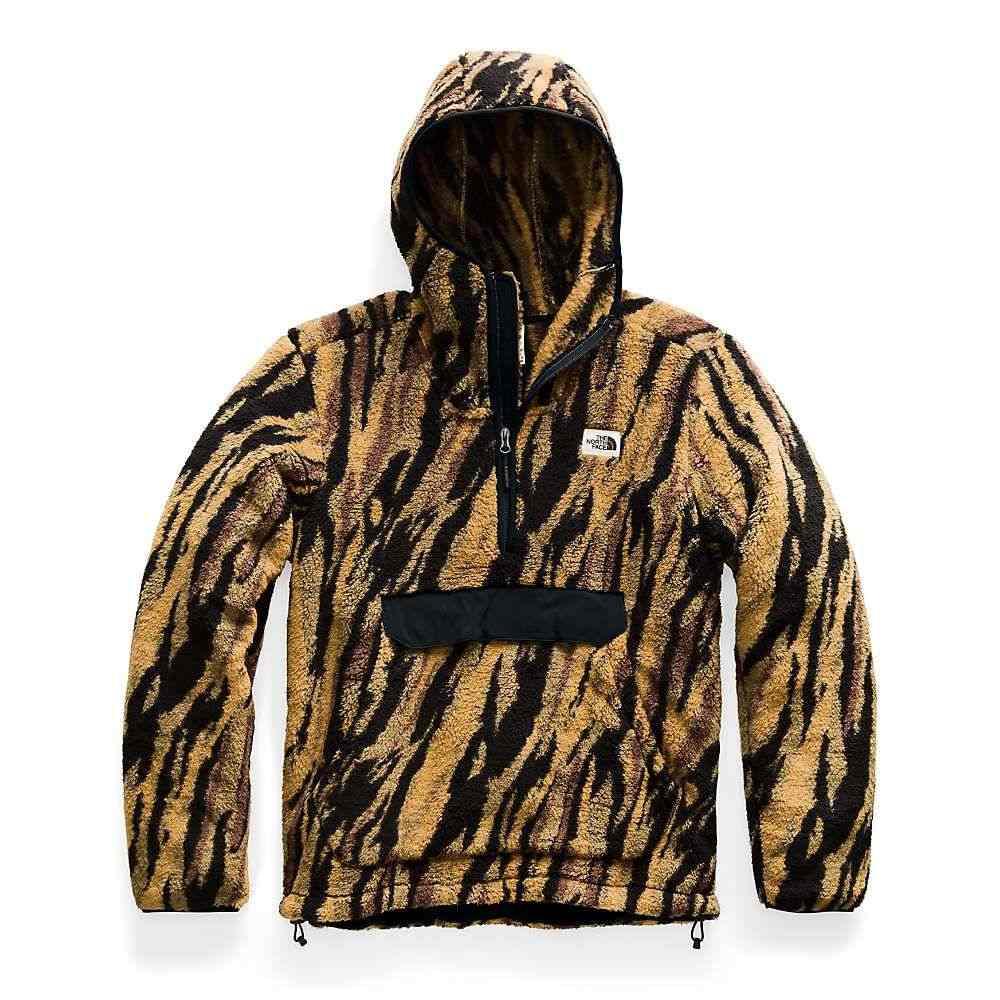 ザ ノースフェイス The North Face メンズ フリース トップス【campshire pullover hoodie】British Khaki Tiger Camo Print