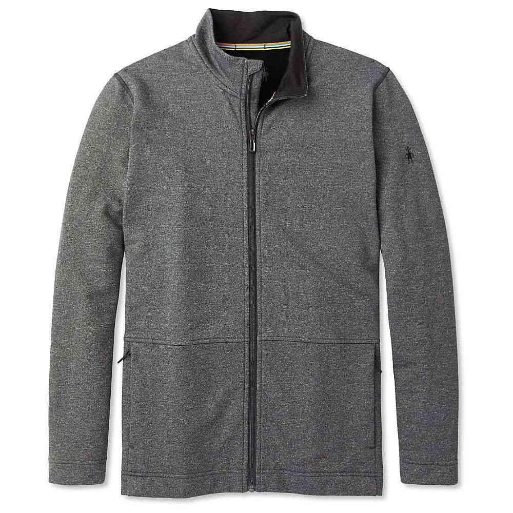 スマートウール Smartwool メンズ フリース トップス【merino sport fleece full zip jacket】Charcoal Heather