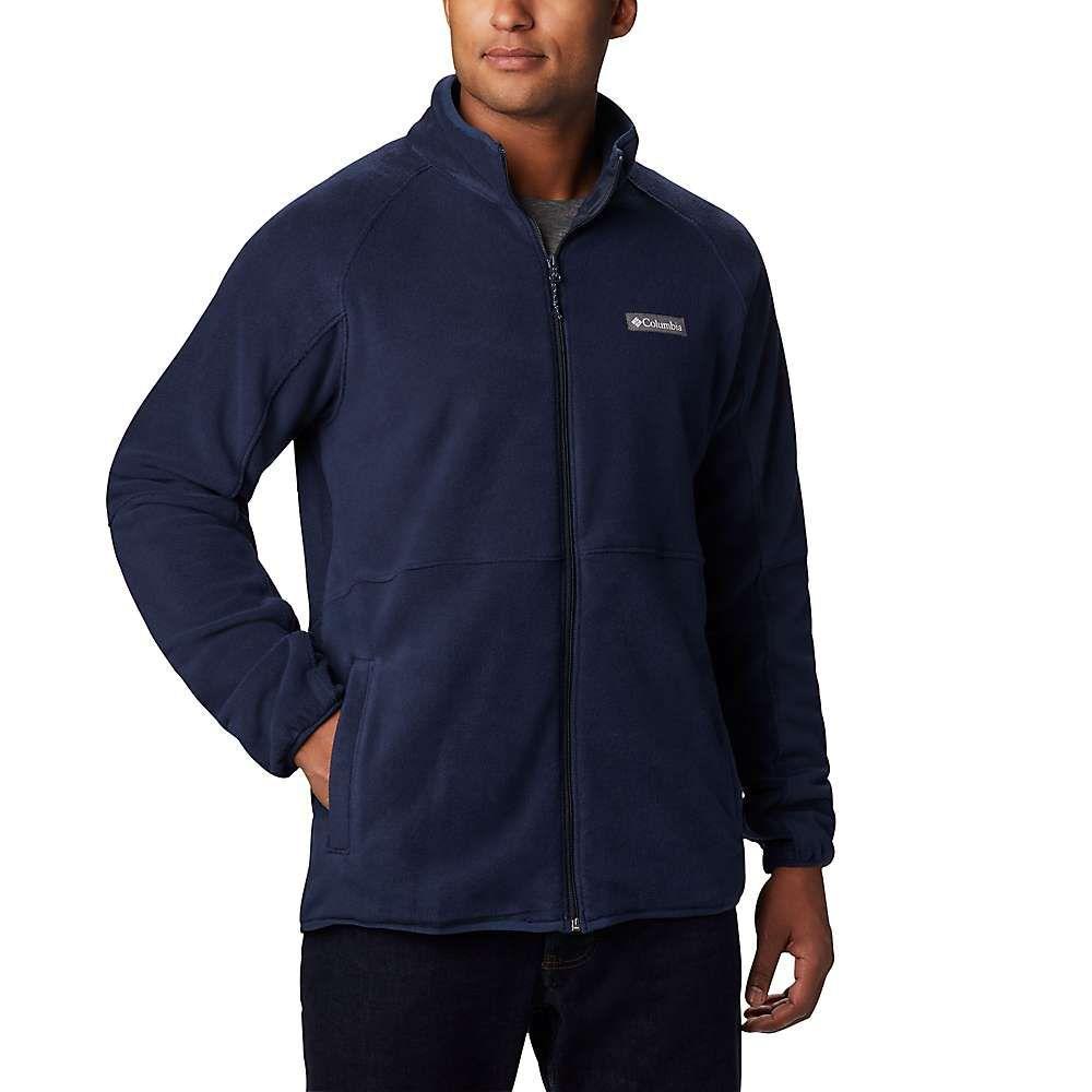 コロンビア Columbia メンズ フリース トップス【basin trail fleece full zip】Collegiate Navy