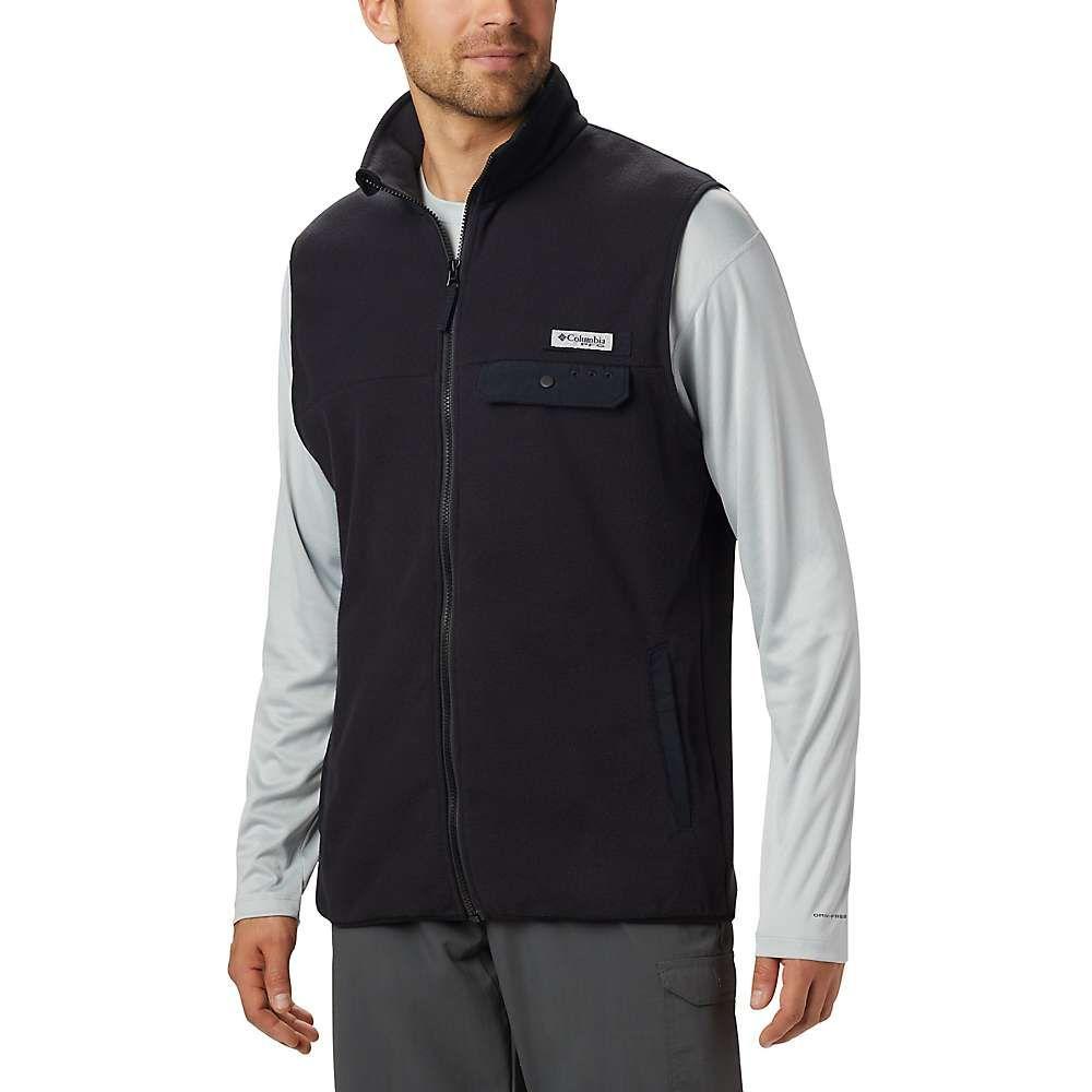 コロンビア Columbia メンズ ベスト・ジレ トップス【harborside ii fleece vest】Black
