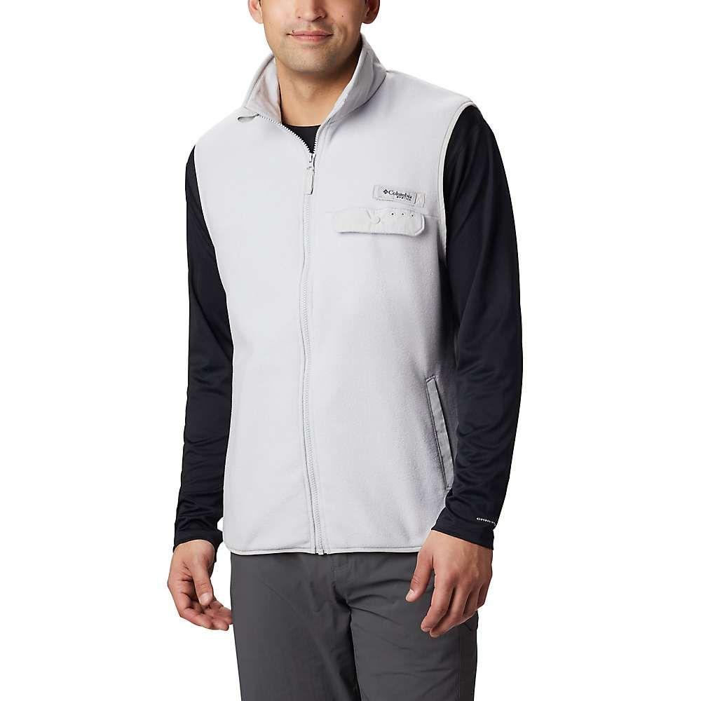 コロンビア Columbia メンズ ベスト・ジレ トップス【harborside ii fleece vest】Cool Grey Heather