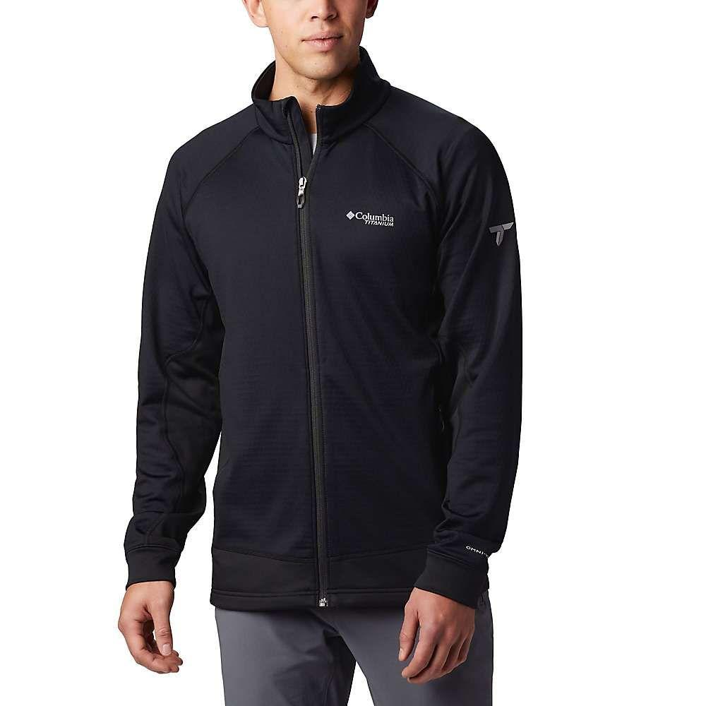 コロンビア Columbia メンズ フリース トップス【titanium mount defiance fleece jacket】Black