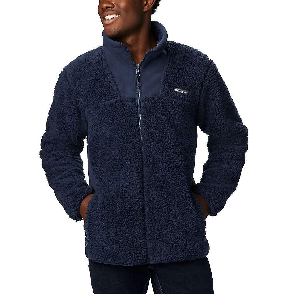 コロンビア Columbia メンズ フリース トップス【winter pass fleece full zip】Collegiate Navy