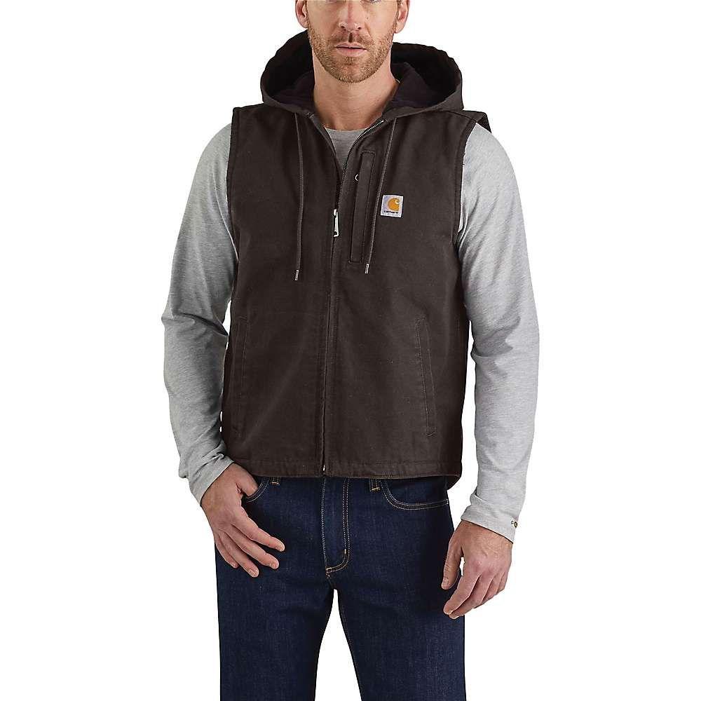 カーハート Carhartt メンズ ベスト・ジレ トップス【duck knoxville vest】Dark Brown DKB