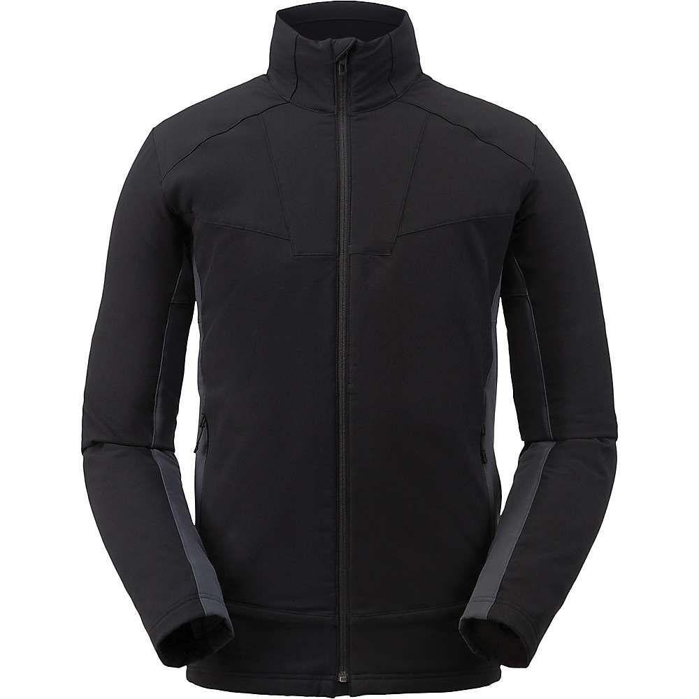 スパイダー Spyder メンズ フリース トップス【ascender light full zip fleece jacket】Black