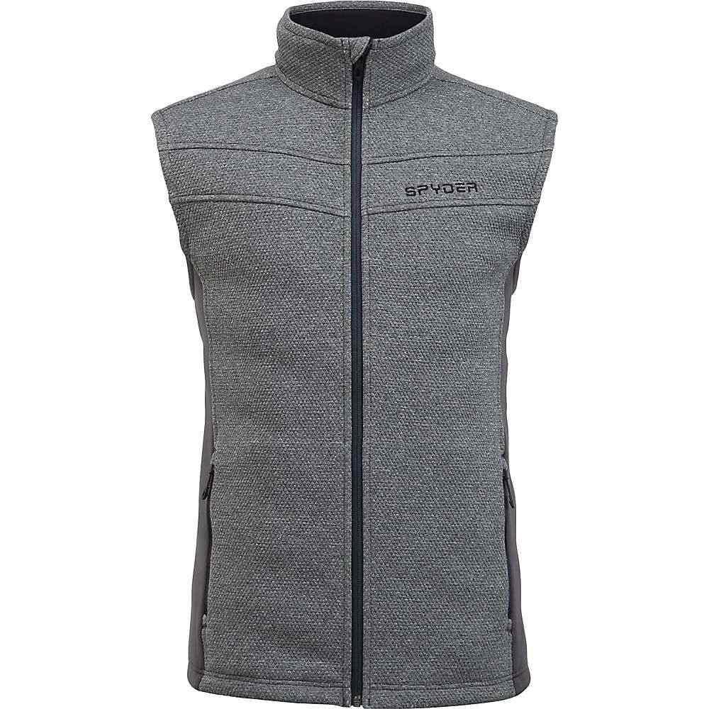スパイダー Spyder メンズ ベスト・ジレ トップス【encore fleece vest】Ebony