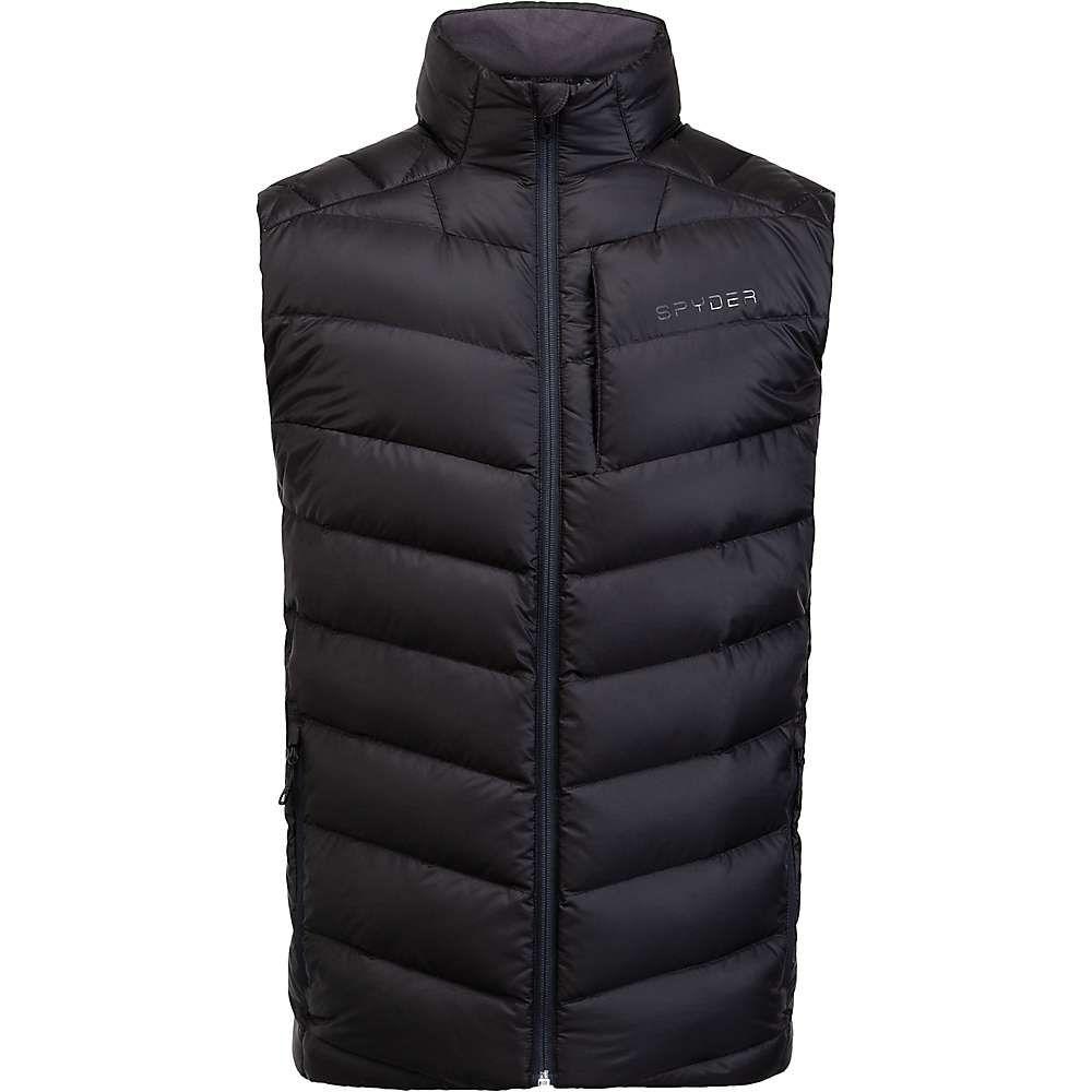 スパイダー Spyder メンズ ベスト・ジレ ダウンベスト トップス【timeless down vest】Black
