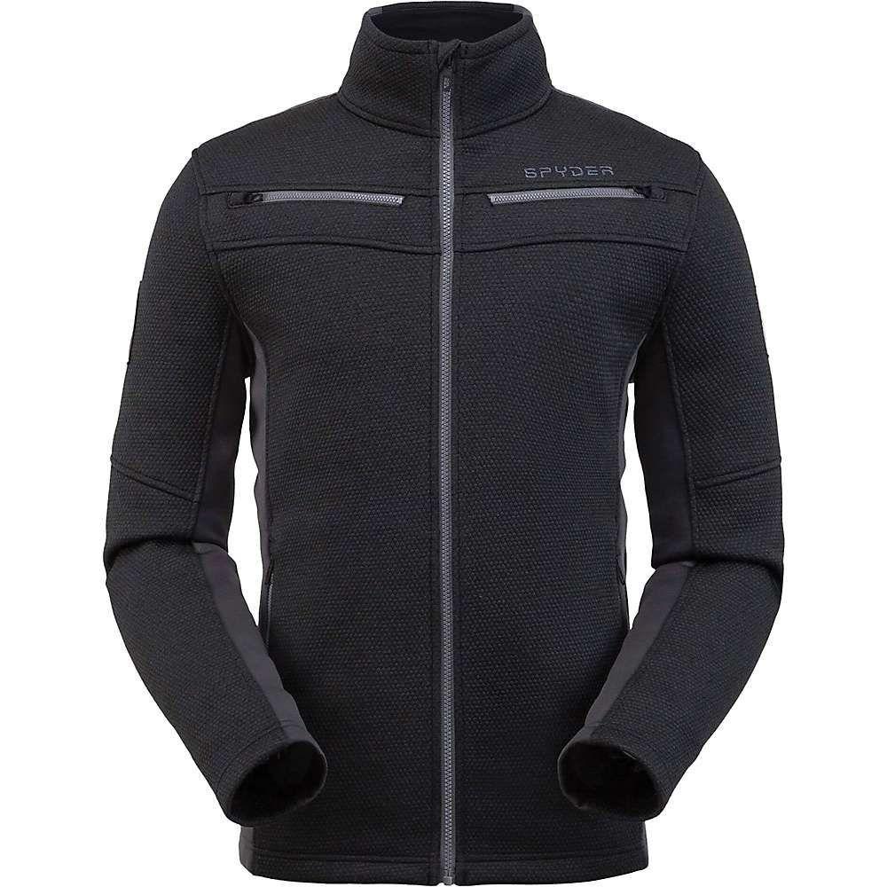 スパイダー Spyder メンズ フリース トップス【wengen encore full zip fleece jacket】Black