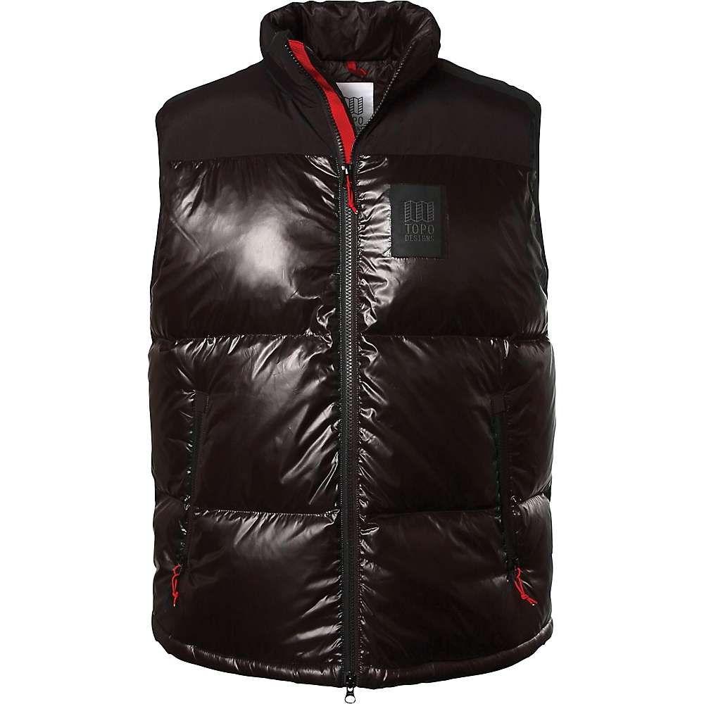 トポ デザイン Topo Designs メンズ ベスト・ジレ トップス【big puffer vest】Black