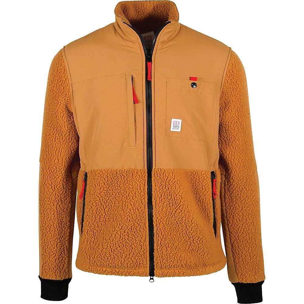 トポ デザイン Topo Designs メンズ フリース トップス【subalpine fleece jacket】Khaki