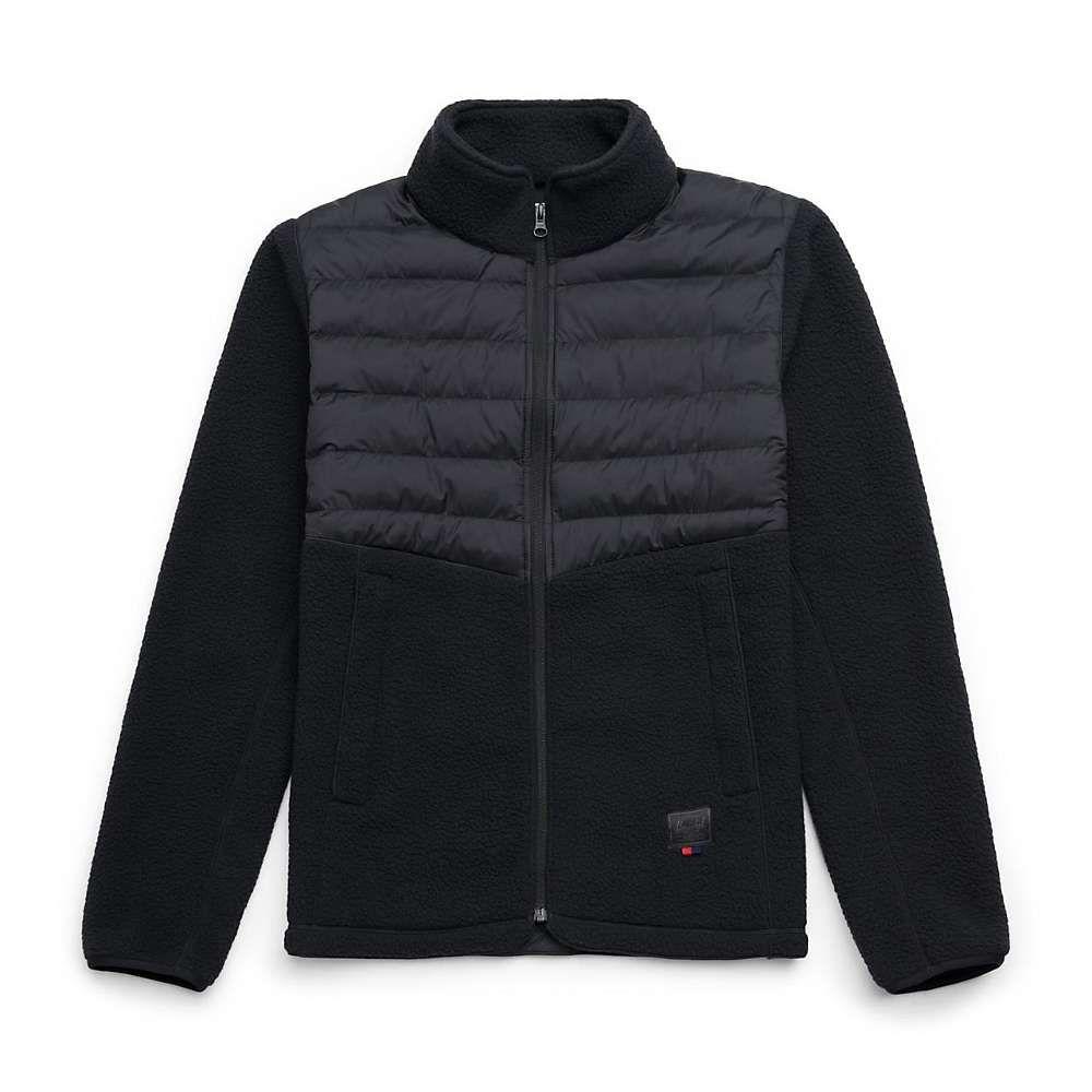 ハーシェル サプライ Herschel Supply Co メンズ フリース トップス【hybrid sherpa full zip】Black
