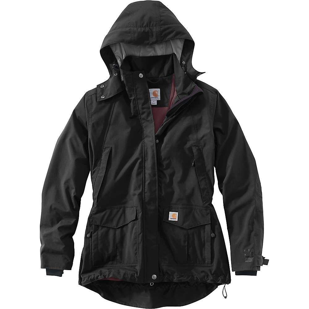 カーハート Carhartt レディース ジャケット アウター【Shoreline Jacket】Black