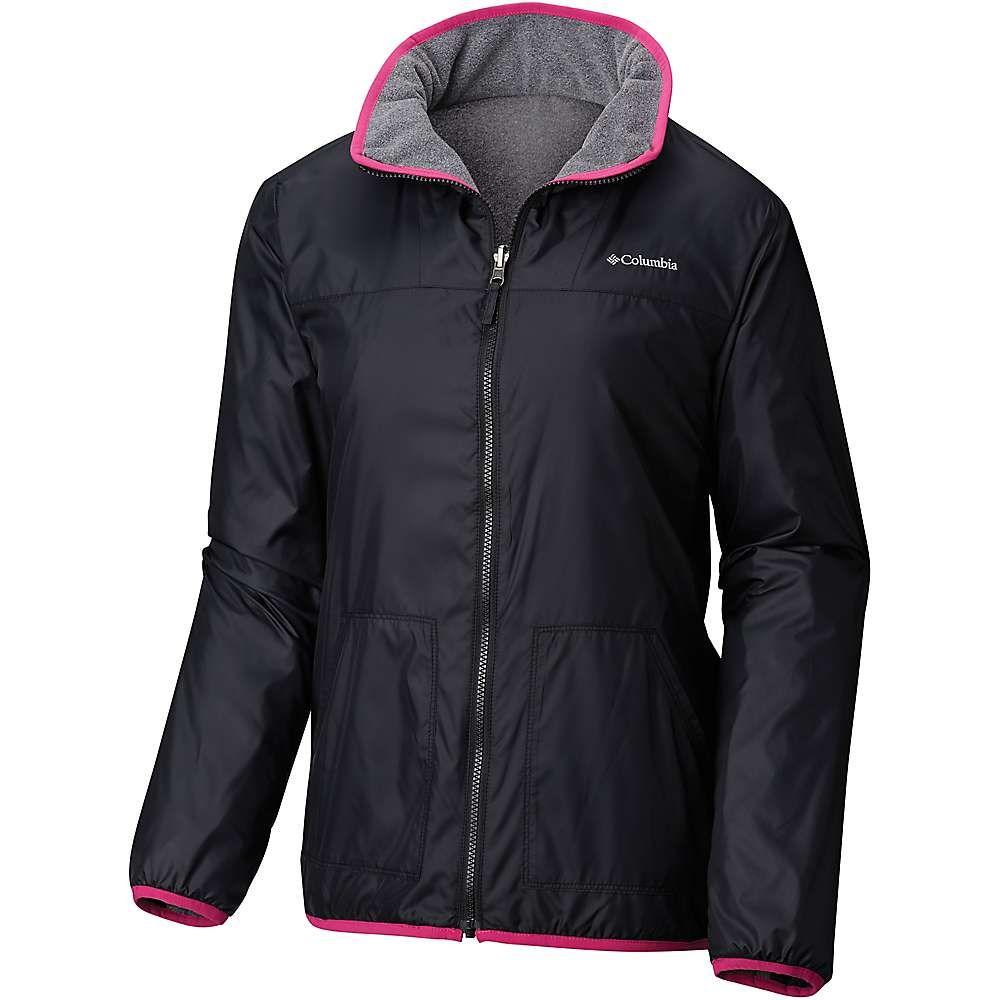 コロンビア Columbia レディース フリース マウンテンジャケット トップス【Mountain Side Reversible Fleece Jacket】Black