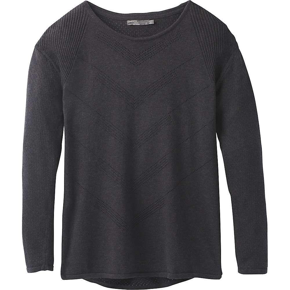 プラーナ Prana レディース ニット・セーター トップス【Mainspring Sweater】Charcoal Heather