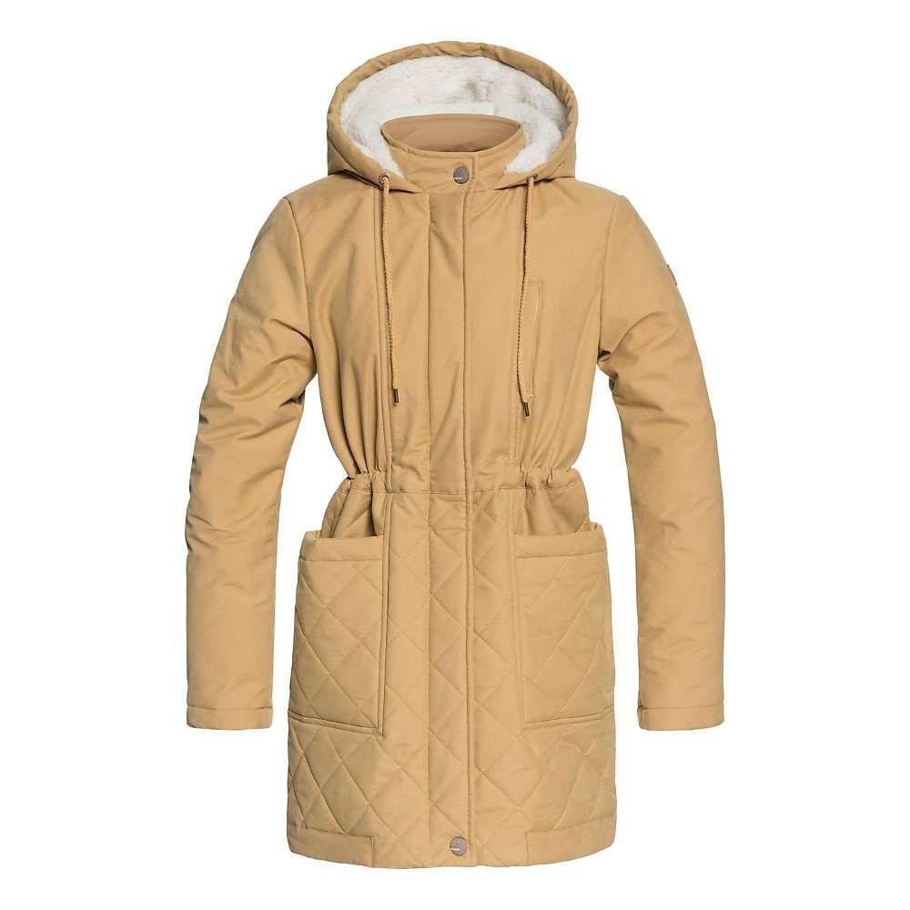 ロキシー Roxy レディース ジャケット アウター【Slalom Chic Jacket】Curry