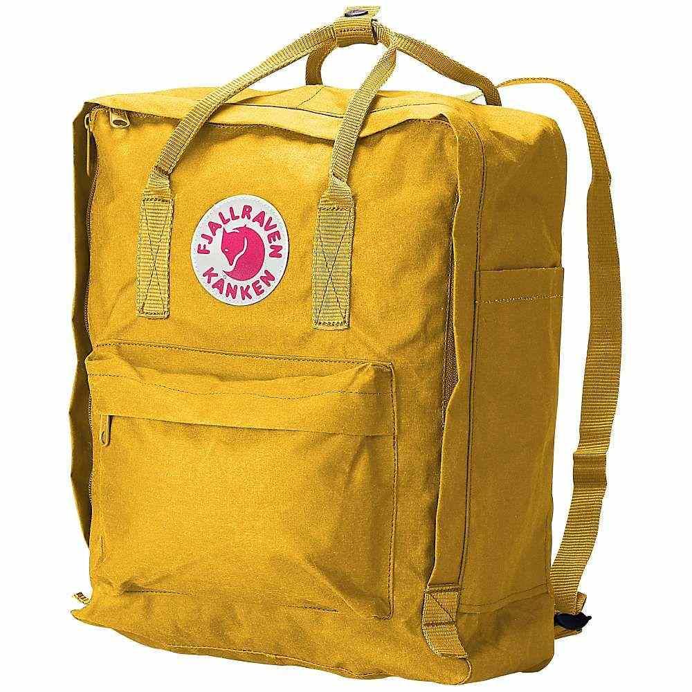 フェールラーベン Fjallraven ユニセックス バックパック・リュック カンケン バッグ【Kanken Backpack】Warm Yellow
