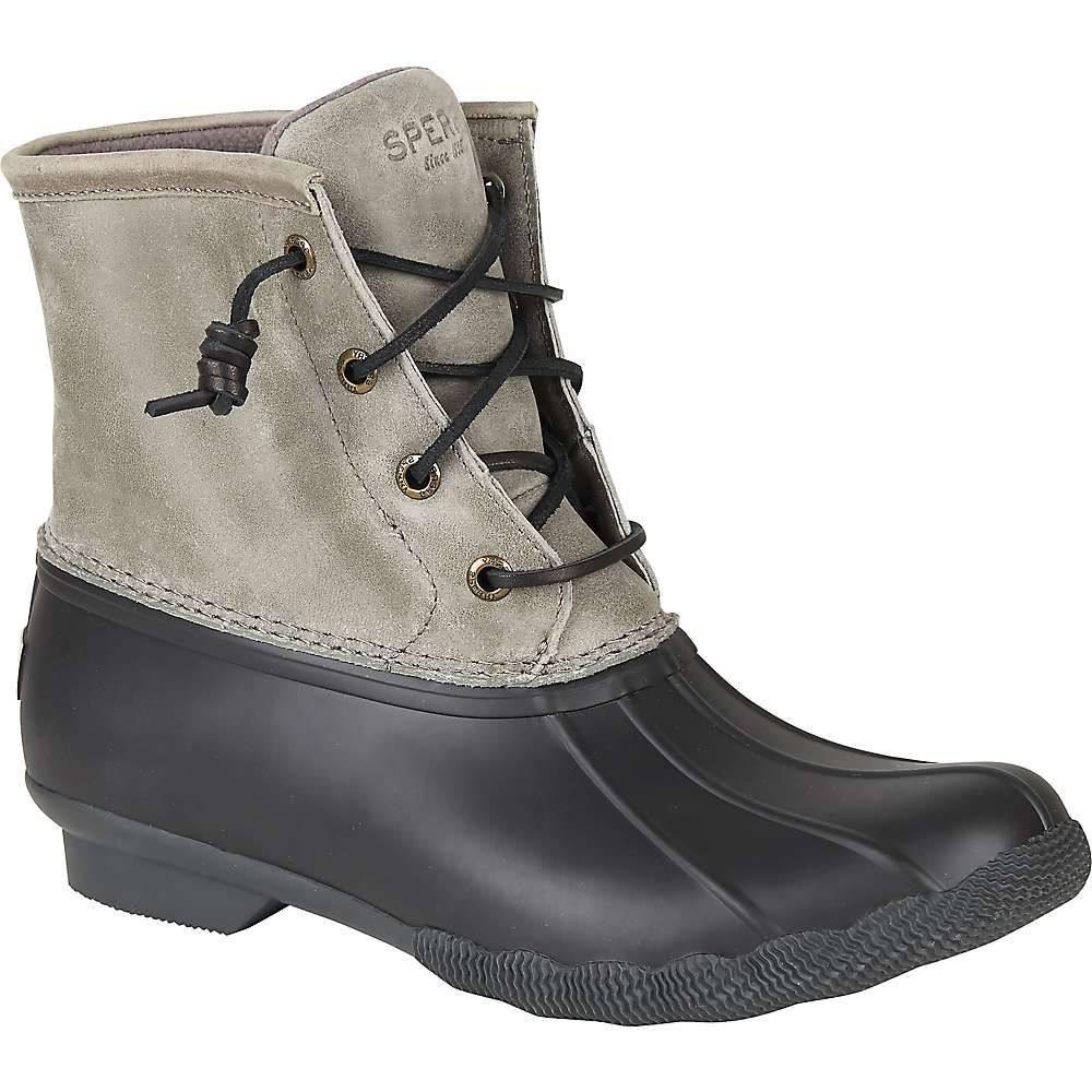 スペリー Sperry レディース ブーツ シューズ・靴【Saltwater Boot】Black/Grey