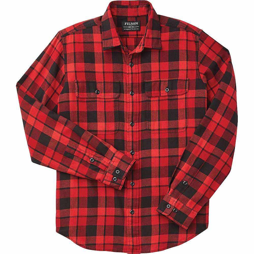フィルソン Filson メンズ シャツ トップス【Scout Shirt】Black/Scarlet