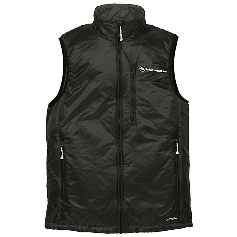 ビッグアグネス Big Agnes メンズ ベスト・ジレ トップス【Spike Vest】Black/Black